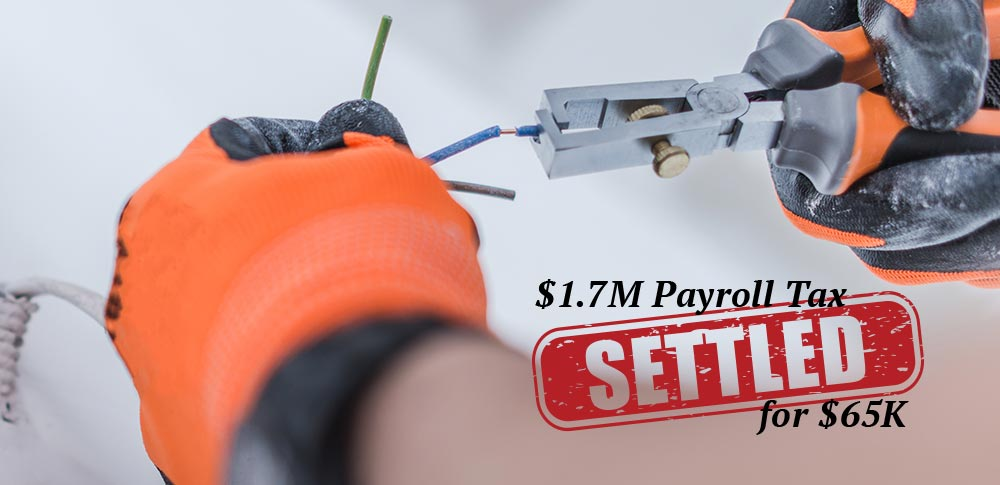 debt-settled-electrical-contractor